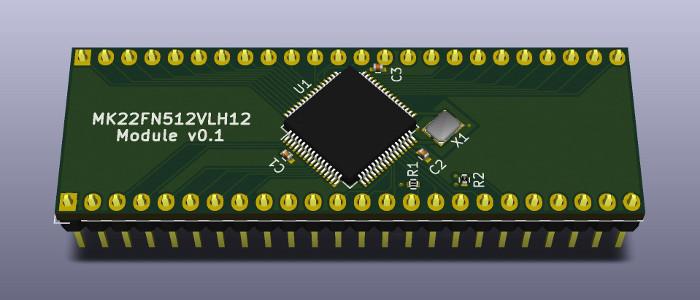 MK22FN512VLH12 Module v0.1